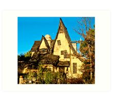 The Witch's House in Beverly Hills Art Print