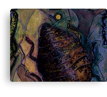 Insect Browned Canvas Print