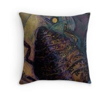 Insect Browned Throw Pillow