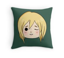 Krista (Historia) Wink! Throw Pillow