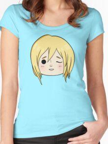 Krista (Historia) Wink! Women's Fitted Scoop T-Shirt