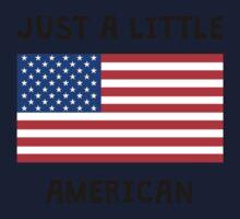 Just A Little American Kids Tee