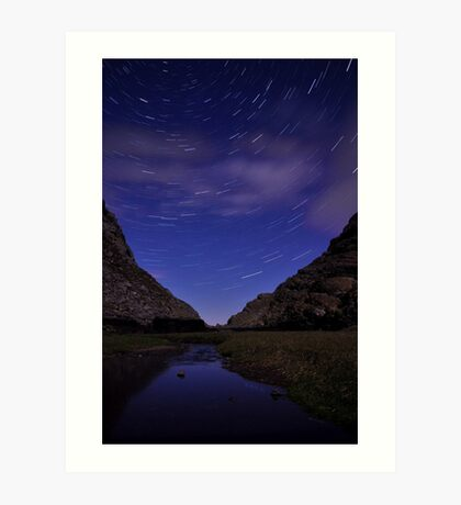 Startrails Gap Of Dunloe  Art Print