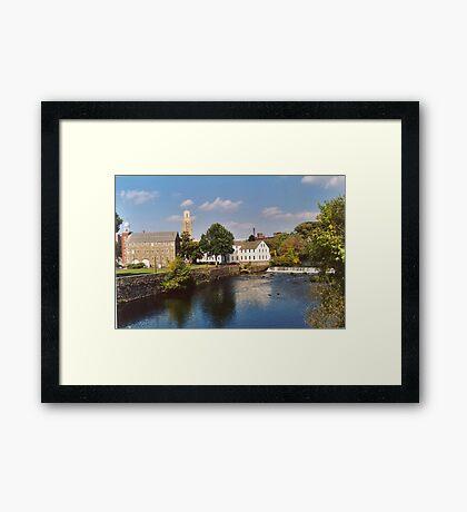 Slater Mill Complex Framed Print