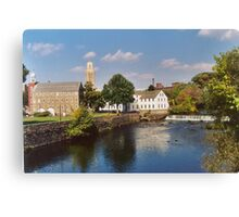 Slater Mill Complex Canvas Print