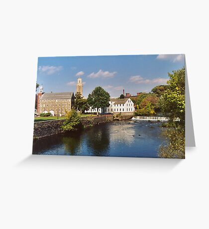 Slater Mill Complex Greeting Card