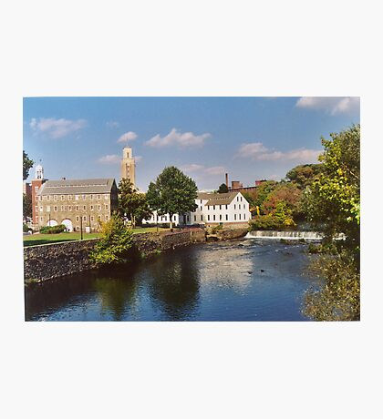 Slater Mill Complex Photographic Print