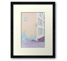 Lamp Post La Roche Guyon Framed Print