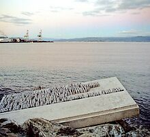 """""""Wellington Harbour is a Laundry"""" by Anthony Woolley"""