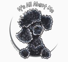 Black Toy Poodle IAAM by offleashart