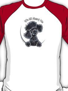 Black Toy Poodle IAAM T-Shirt