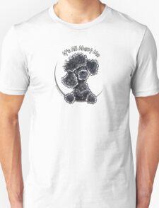 Black Toy Poodle IAAM Unisex T-Shirt