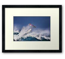Pipeline Surfer 2 Framed Print