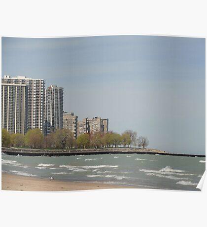 Chicago Shoreline Poster