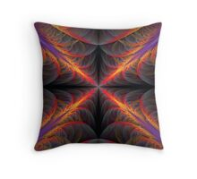 Twisted Flame Throwers Throw Pillow