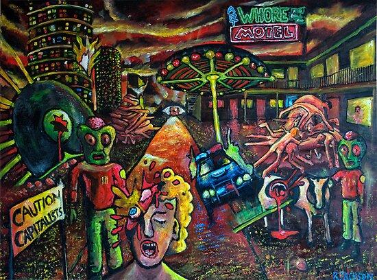 Art Whore Motel by Richard Jackson