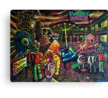 Art Whore Motel Canvas Print