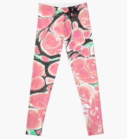 Deliciously Marble #redbubble Leggings