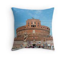 Castel Sant'Angelo Throw Pillow