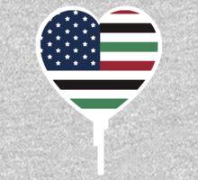 AFRICAN AMERICAN BLEEDING HEART 2 Kids Clothes