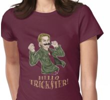 Hello, Trickster! Womens Fitted T-Shirt
