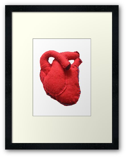 Anatomical heart  by Rem N
