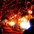 An evening stroll in West Hollywood by Rebecca Dru