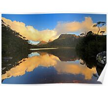 Cradle Mountain Lake Lilla Poster