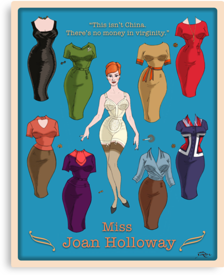 Miss Joan by nouvellegamine