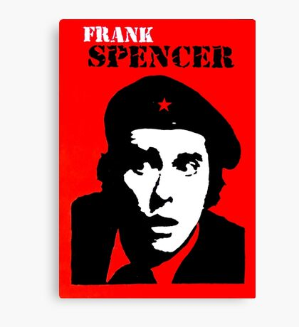 Frank Spencer Canvas Print
