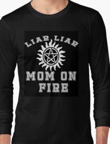 Supernatural Liar Liar Long Sleeve T-Shirt