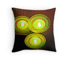 Stairwell Lights Throw Pillow