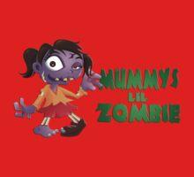 Mummy's Lil Zombie Baby Tee
