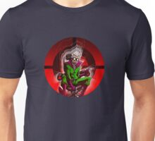 Professor Mad Brainer in her Insane Brain Cockpit  Unisex T-Shirt