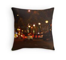 West Hollywood Lights 1 Throw Pillow