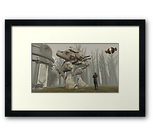 Earth Walker 2080 Framed Print