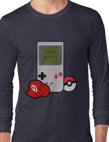 Your childhood - By Nintendo Long Sleeve T-Shirt