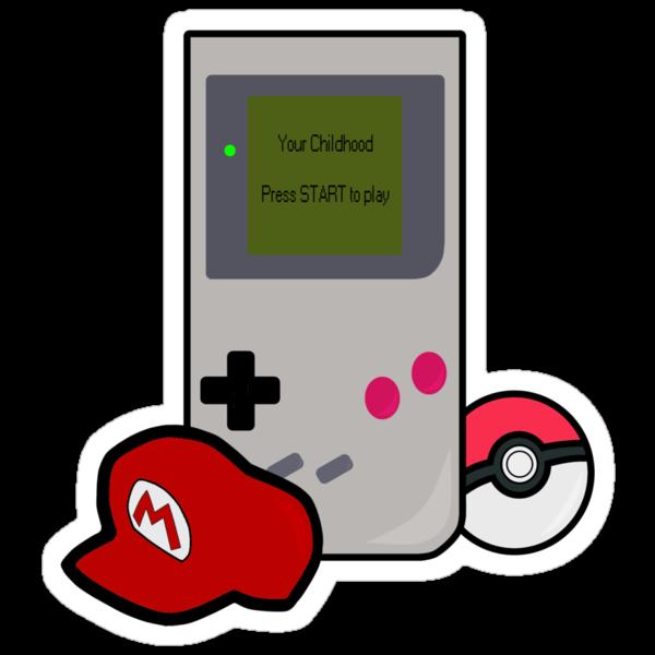 Your childhood - By Nintendo by Lemontattie