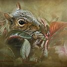 Impatiently Eating Flowers by Kay Kempton Raade