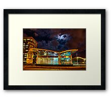 World Trade Center Station Framed Print