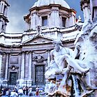 TREVI  FOUNTAIN,  ROMA..................! by Roy  Massicks