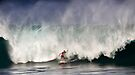 Aamion Goodwin At Billabong Pipe Masters In Memory of Andy Irons 2011 by Alex Preiss