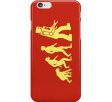 Sheldon Robot Evolution iPhone Case/Skin
