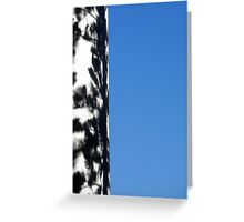 Shadows by the Sky Greeting Card