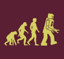 Sheldon Robot Evolution by chupalupa