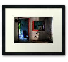 What's in the barrel... Framed Print