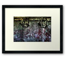 All about the walls Framed Print