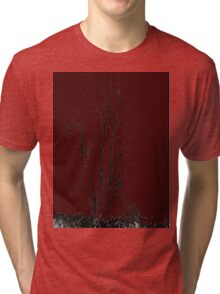 the red night Tri-blend T-Shirt