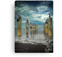 Old Jetty - Flinders Island Canvas Print
