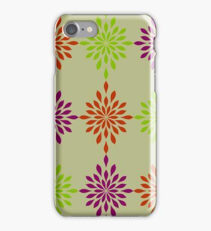 Modern Twist on Earth Tones iPhone Case/Skin